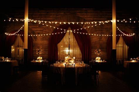 restaurant string lights sophisticated nashville wedding from kristyn