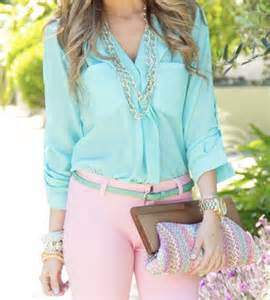 Pastel Blouse 2013 bright colored blouse gender sexuality and rights