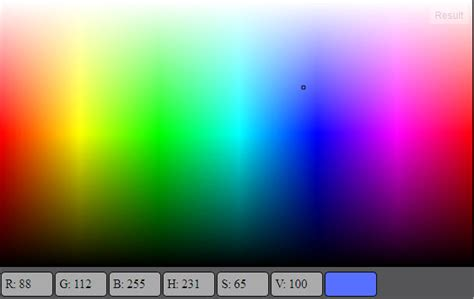 Create gradient for color selection with HTML5 canvas (all