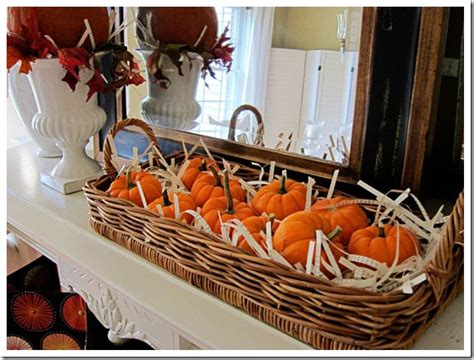 decoration home fall decorating ideas fall cookie perfect pumpkins my fall mantel in my own style