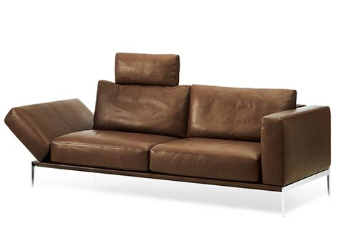 Comfy Loveseat Sofa Ultra Comfy Contemporary Piu Sofa From Intertime