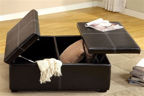 Large Storage Ottoman Coffee Table Ottoman Coffee Table With Storage