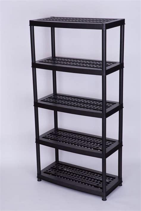 5 Inch Shelf accent 18 inch 5 shelf black the home depot canada