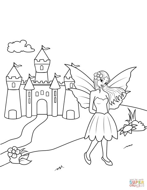 castle coloring pages near castle coloring page free printable coloring