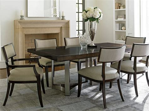 lexington dining room set lexington furniture macarthur park 7 pc beverly place
