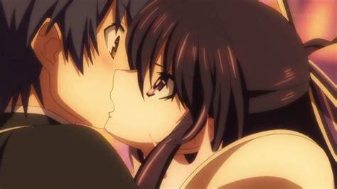 anime date a live kiss shido and tohka anime amino