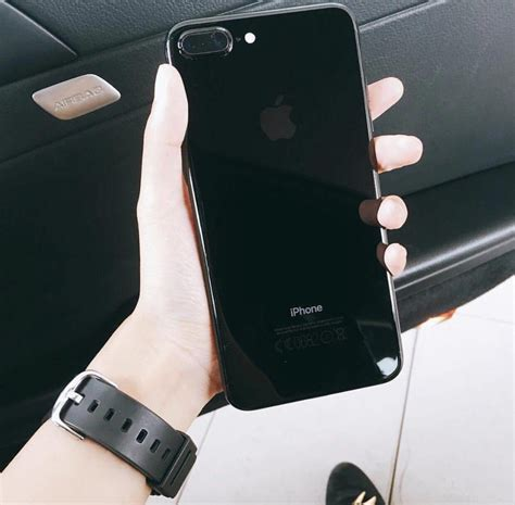 iphone   gb jet black pronta entrega brindes