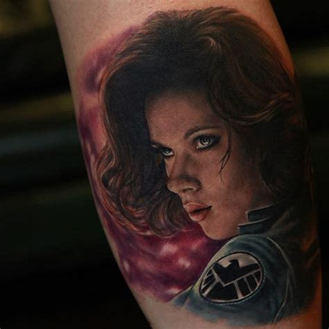 avenger tattoos black widow best ideas gallery