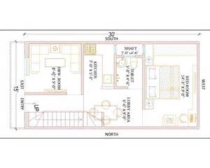 15 x 30 ground floor plan gharexpert