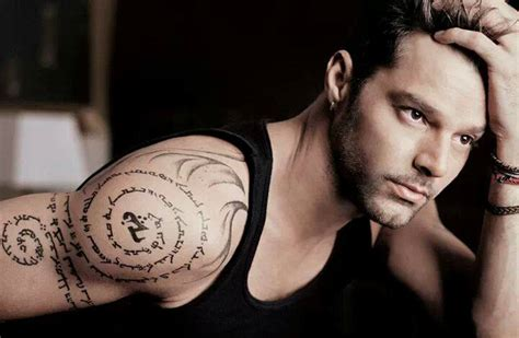 tatuajes de ricky martin tatuajes logia barcelona