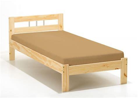 einzel bett einzelbett kiefer massiv schlafzimmer einzelbetten