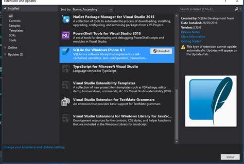 windows phone 8 1 sqlite filenotfound