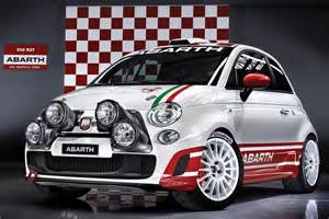 Abarth 500 Stripes Abarth 500 Earns Its Rally Stripes Pictures Auto Express
