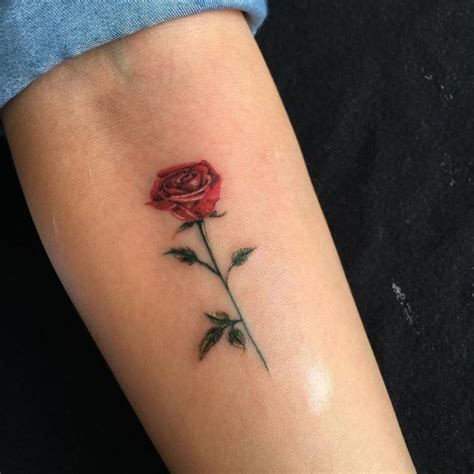 small rose hand tattoo best 25 small gun ideas on at