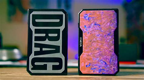 Drag New Black Resin Mod voopoo drag mod resin edition