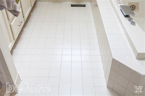 how to get bathroom grout white again the fast easy way to whiten tile grout in my own style