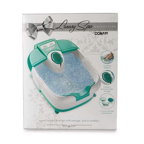 conair bathtub spa conair true massaging foot bath with bubbles heat fb30