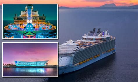 royal caribbean new boat royal caribbean s new cruise ship symphony of the seas