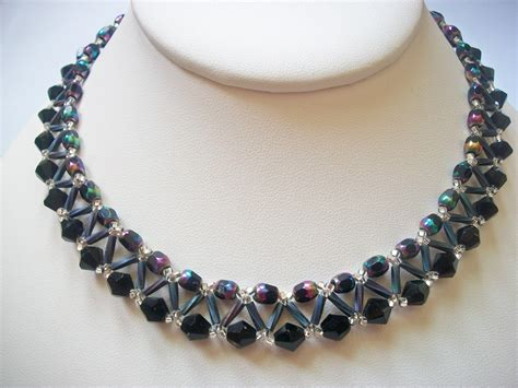 bead jewelry patterns abracadebra design tutorials necklaces