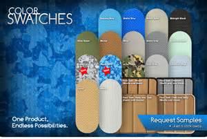 swim platform pad color guide seadek marine products