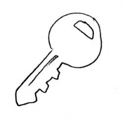 Key Outline Clip Free by Key Outline Clip Colouring Pages Page 3 Clipart Best Clipart Best