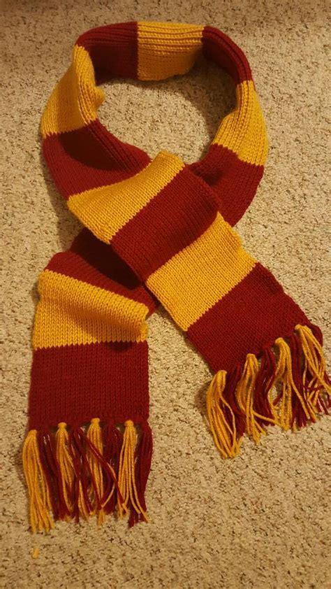 knitting pattern gryffindor scarf 8 harry potter scarf knitting pattern the funky stitch