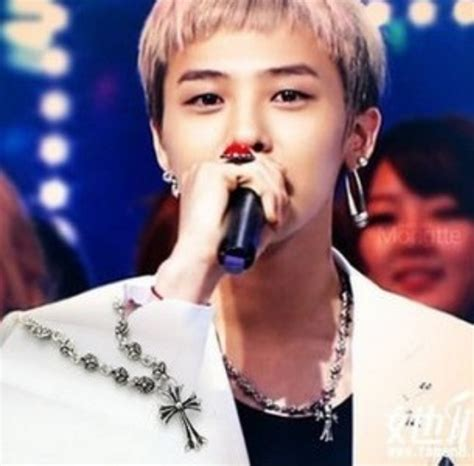 Kpop G Peaceminusone Necklace Pmo kpop bigbang g gd chrome hearts cross necklace jewelry g