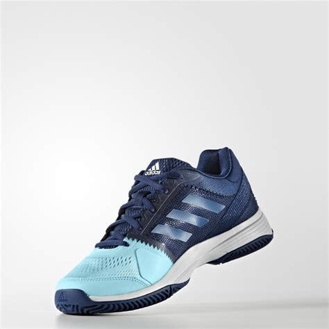 adidas womens barricade club  tennis shoes blue
