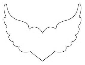wings template with wings pattern use the printable outline for