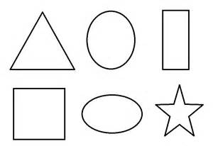 Printable Shapes To Color Coloring Pages sketch template