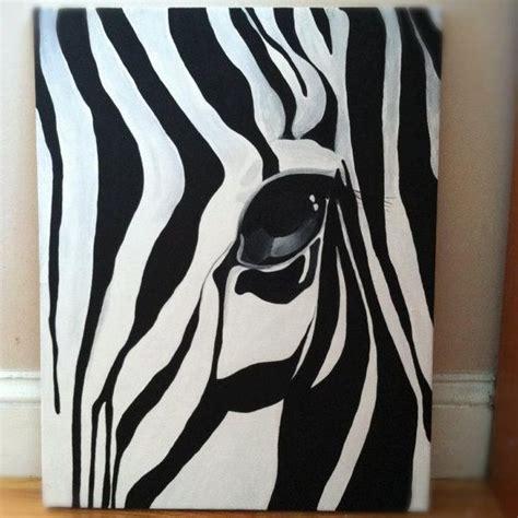 zebra paint zebra painting brian blackman
