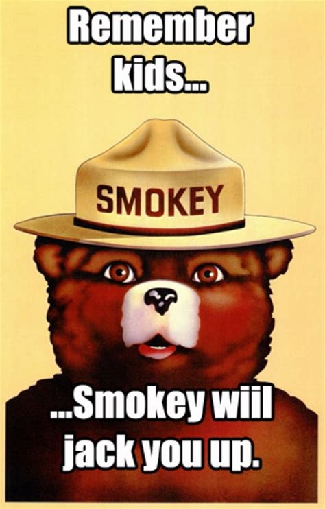 Smokey The Bear Meme Generator - smokey the bear meme 28 images image 764382 smokey the
