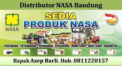 Ton Nasa Agen Herbal Nasa distributor nasa bandung peternakan perikanan