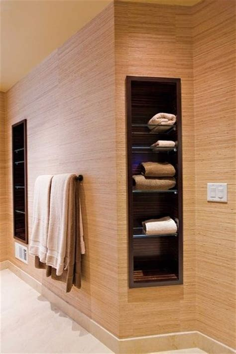 recessed shelves in bathroom recessed bathroom storage my future home a girl can