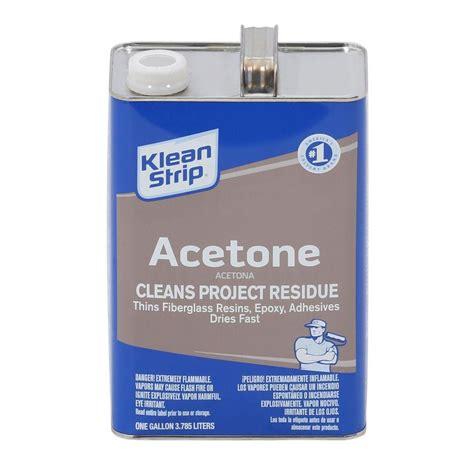 Klean 1 Gal Acetone Gac18 The Home Depot
