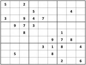 Printable Sudoku Sheets Printable Sudoku