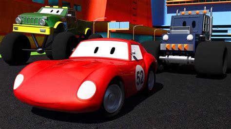 film kartun mobil balap mcqueen 2 trek monster spid si mobil balap kartun kanggo anak
