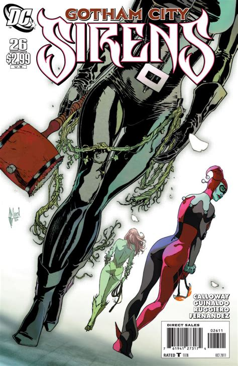 siren in the city sirens book 2 volume 2 books gotham city sirens vol 1 26 dc database fandom powered