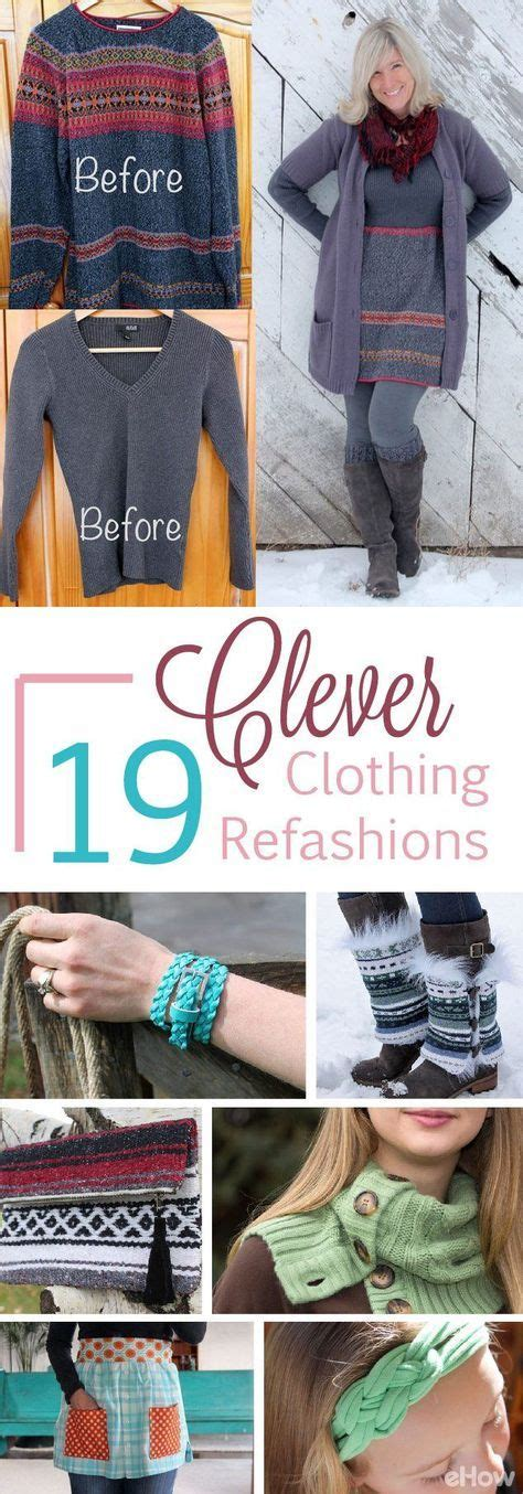 Thrifty Clever Finds by 19 Clever Ways To Refashion Your Clothes Refashioned
