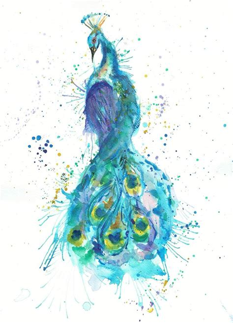 watercolor tattoo peacock 17 best ideas about watercolor peacock on