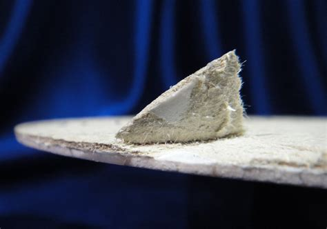 vintage vinyl sheet flooring sample asbestos backing layer