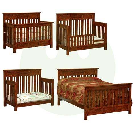 Baby Cribs Made In America Houston Convertible Baby Crib Made In Usa Solid Wood American Eco Furniture