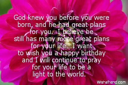 Christian Happy Birthday Wishes For Religious Birthday Quotes