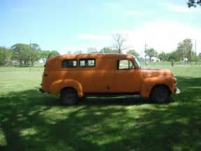 1955 3800 1st series chevy suburban panel truck rat