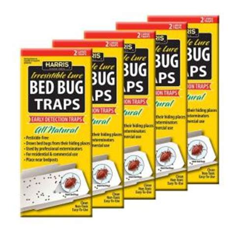 bed bug traps home depot harris bed bug trap value pack bbtrpvp the home depot