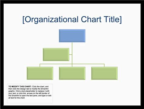 Organizational Chart Template Excel by Blank Organizational Chart Slesreference Letters Words