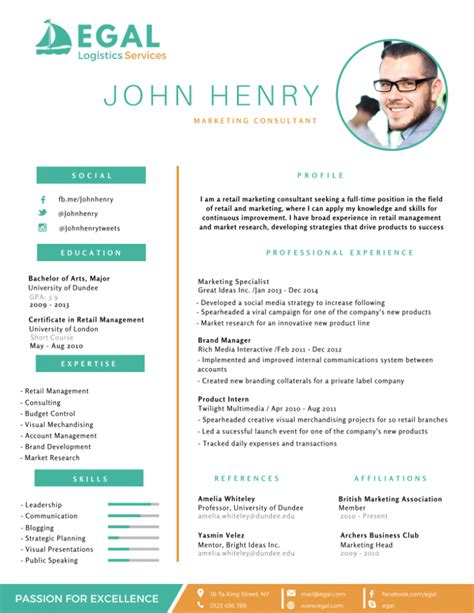 Best Marketing Resume Templates by 50 Most Professional Editable Resume Templates For Jobseekers