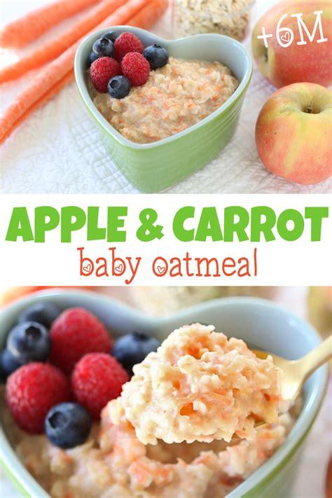 Green Smoothie Detox Breakfast Recipe Apple Carrot Oat Muffins carrot apple oatmeal 6 months buona pappa