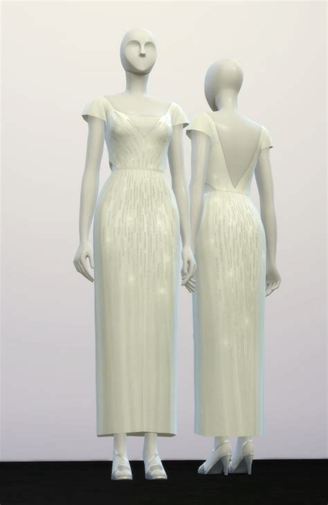 Wedding Dress Nail by Nail Wedding Dress Sims 4 Downloads