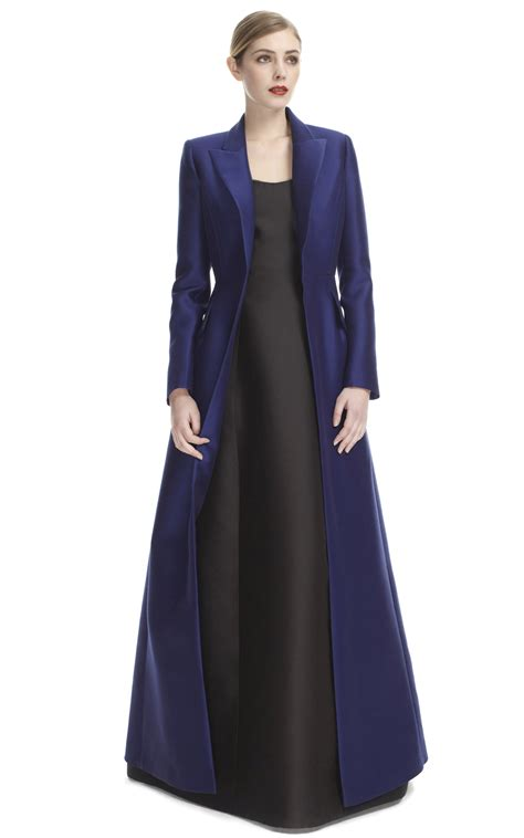 Dress Coat evening dress coat by alberta ferretti moda operandi